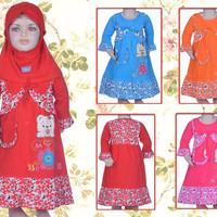 Baju Muslim Bayi Perempuan 8 - 10 Bulan (PMB235)