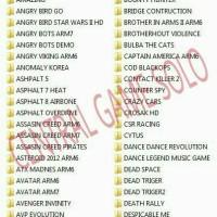 PAKET GAME ANDROID HD BEST SELLER + BONUS