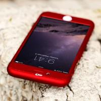 Jual Hardcase Case 360 Iphone 5/5s/6/6+/6 Plus Casing Free Tempered Glass Murah