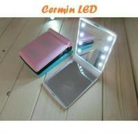 CERMIN LED (terdapat 8 butir lampu led)