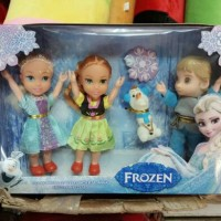 Jual mainan anak baby doll boneka princes frozen elsa ana Murah