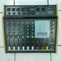 power mixer audio 6 channel targa pmx 605