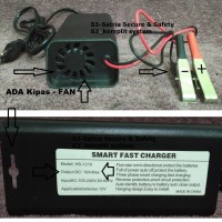Cas Aki Mobil 12v 10A / Charger AKI Mobil 10 A Smart Fast Charger