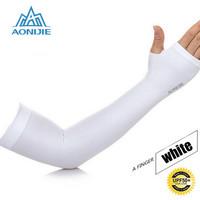 AONIJIE - ARM SLEEVES - sunscreen cuff - WHITE
