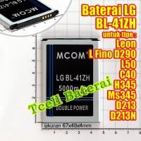 Baterai Lg L Fino Leon L50 C40 H345 Ms345 D213n Bl-41zh Mcom