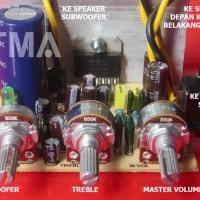 Kit 12v 21s 41s TDA7377 TDA7379 untuk Audio Mobil & Multimedia Speaker