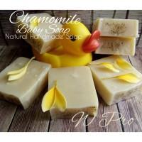 CHAMOMILE NATURAL HANDMADE BABY SOAP - SABUN MANDI ALAMI UNTUK BAYI