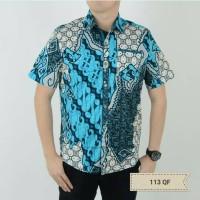 113qf Kalfina Man Shirt (kemeja Batik Pria)