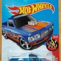 Custom '72 Chevy LUV Chevrolet blue biru HOT WHEELS HW 2017 pick-up