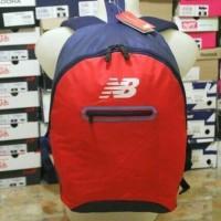 tas ransel bacpack New balance NB bag navy red 100% original