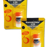 KONVERMEX 125 MG SUSP 10 ML (2 Botol)