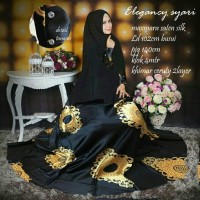 gamis syari maxmara silk elegancy good quality