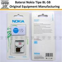 Baterai Nokia 6120C 6120 Classic Klasik BL5B BL-5B Original OEM 100%