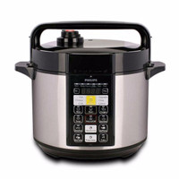 Philips Electric Rice Pressure Cooker / Alat Presto Digital - HD2136