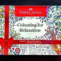 Faber Castell For Relaxation /Connector Pen 60 Colouring Book Coloring