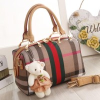 TAS WANITA BRANDED IMPORT FASHION BURBERRY SPEEDY 2009 MURAH