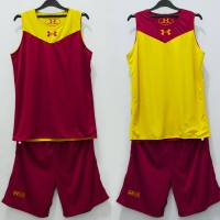 Jual Training Jersey Basket Under Armour (reversible/bolak-balik) Murah