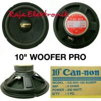 harga Speaker Woofer 10