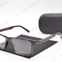 Frame Kacamata Minus Premium OGA 77067 Leopard