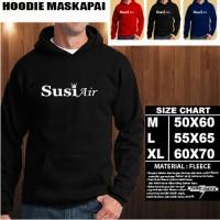 JAKET HOODIE LOGO MASKAPAI SUSI AIR/Sweater/No Zipper