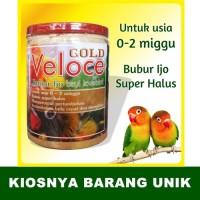 harga Pakan Burung Bubur Ijo Bayi Love Bird Veloce Gold [400gr] Tokopedia.com