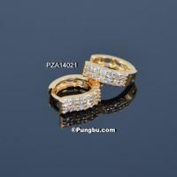 Anting PZA14021 Anting Emas Model Clip Tusuk