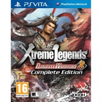 PS VITA GAME Dynasty Warriors 8: Xtreme Legends Complete Edition