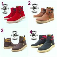 harga Sepatu Picboy Boots Woman Kulit Buck Formal Murah Tali Tokopedia.com