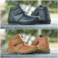 harga Sepatu Kickers Prepet Boots Kulit Asli Formal Kerja Pria Murah Tokopedia.com