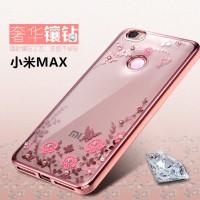 TPU Flower Xiaomi Mi Max Mimax Silicone Diamond Soft Case Softcase HP