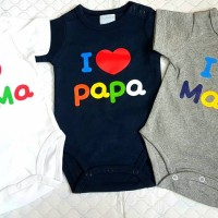 Mon Ours Baby Jumper I Lov Pa Ma Boy And Girl Import