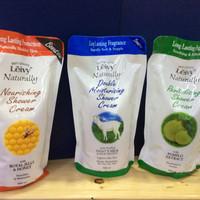 Jual Leivy Naturally Shower Cream Refill - 900 Ml Murah