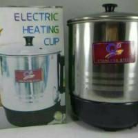Electric Heating Cup / Mug listrik / Teko Listrik Stailess steel 14cm