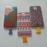 Casing Samsung Note 3 tribal japanese floral hard case lucu