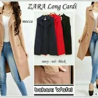 Zara Long Cardi Vest Outer