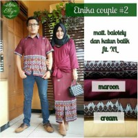 etnika set couple katun batik