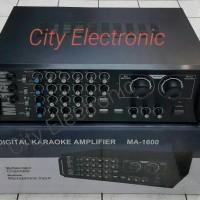 Jual Digital Professional Karaoke Amplifier MA-1600 Murah