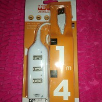 KABEL USB PORT 4IN1 COLOKAN FLASHDISK DI KOMPUTER LAPTOP