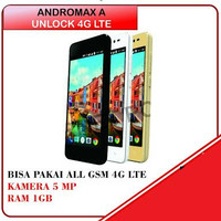 ANDROMAX A 4G LTE UNLOCK ( HP ONLY )