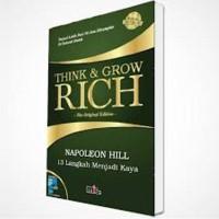 (Baru) Buku Think & Grow Rich Napoleon Hill - Best seller Motivasi