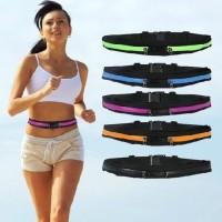 pocket smart belt running sport elastic lari sepeda tas ikat pinggang