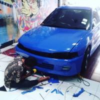 Sticker Mobil Fullbody Oracal Bergaransi Makassar