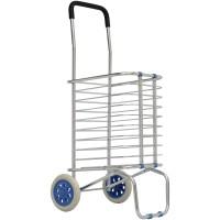 Jual Troli Keranjang Belanja Aluminium 2 Roda | Trolley Lipat Barang Murah