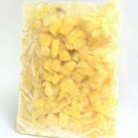 Jual Frozen Pineapple / Buah beku Nanas Murah