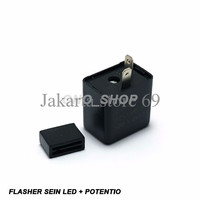 Flasher Led With Potentio