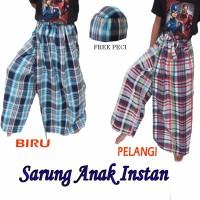 Jual MURAH Sarung instan anak celana karakter GOOD QUALITY Free PECI Murah