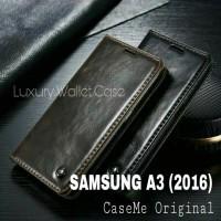 Samsung A3 (2016) Leather Case Merk CASEME Premium Wallet Case Samsung