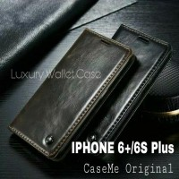 Iphone 6 Plus/6S Plus Leather Case Merk CASEME Premium Wallet Case