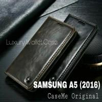 Samsung A5 (2016) Leather Case Merk CASEME Premium Wallet Case Samsung
