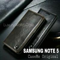 Samsung Note 5 Leather Case Merk CASEME Premium Wallet Case Samsung